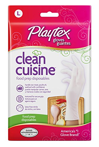Playtex Disposables CleanCuisine Gloves Large