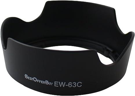 BestOfferBuy EW-63C Parasol para Cámara Canon EOS 700D 100D con EF ...