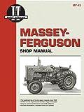 Massey Ferguson Shop Manual Models MF255 MF265 MF270 + (Manual Mf-43)