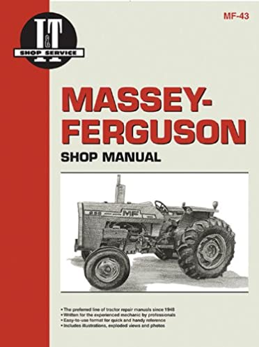 massey ferguson shop manual models mf255 mf265 mf270 manual mf 43 rh amazon com massey ferguson 255 service manual pdf massey ferguson 255 service manual pdf