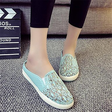 Blanco US5 Lienzo Confort Mujer Confort De CN35 RTRY Sneakers Informal Plano EU36 Pu 5 5 Resorte La UK3 qFYP7