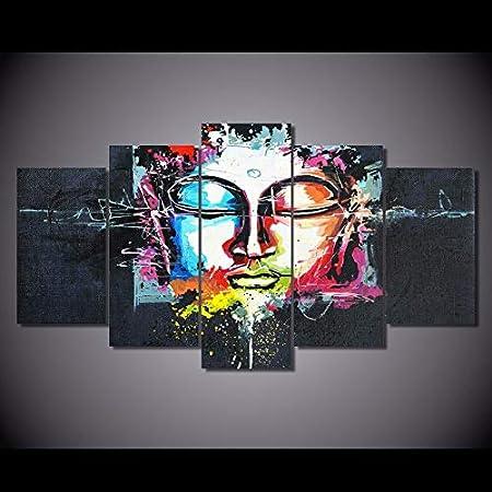 mmwin Cartel de la Lona para la Sala de Arte de la Pared ...