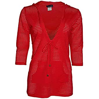 Mesh Coverup in Red Hot