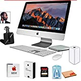 @pple 21.5' iMac Desktop Computer (Late 2013) with Wireless Headset, Super Drive, Airport time Capsule, mac Essential and Apple Care Protection Plan Home Office Bundle