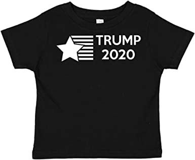 Star//Stripes Mashed Clothing Trump 2020 Republican Toddler//Kids Long Sleeve T-Shirt