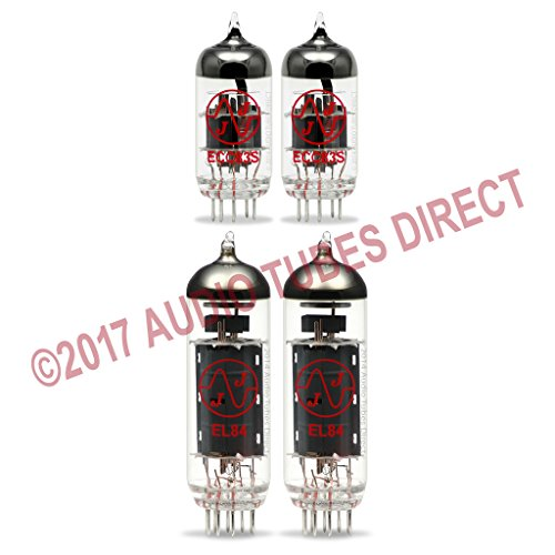 JJ Tube Upgrade Kit For VOX AC10 Amps EL84 ECC83S by J.J.