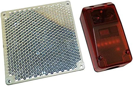 RP25 Fotocélulas de seguridad con reflector para puertas y puertecillas automáticas