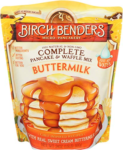 Birch Benders, Pancake Waffle Mix butter milk, 24 oz