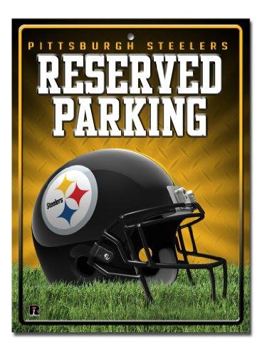 Pittsburgh Steelers Parking Sign - Pittsburgh Steelers Metal Parking Sign