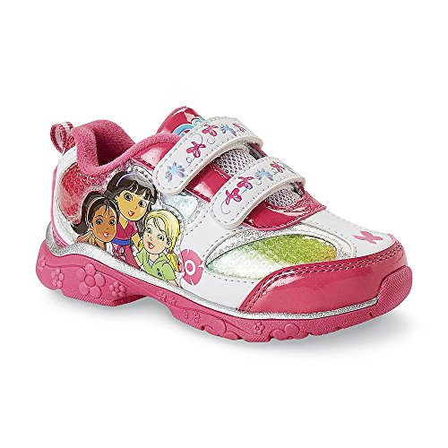 Nickelodeon Toddler Girl's Dora and Friends Sneaker (10 US (Toddler))