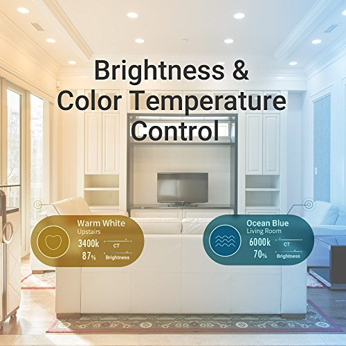 Lettin Smart Led Bulb A19 Starter Kit, Wi-Fi Extender, Dimmable, Air Control, Compatible with Alexa, Pack of 2 by LIGHT & EFFECTS (Image #4)