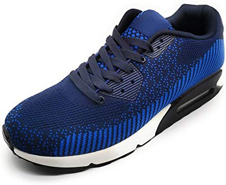 Zapatillas Deportivas Hombre Ligero Transpirable con Camara de Aire para Correr Caminar Trabajar: Amazon.es: Zapatos y complementos