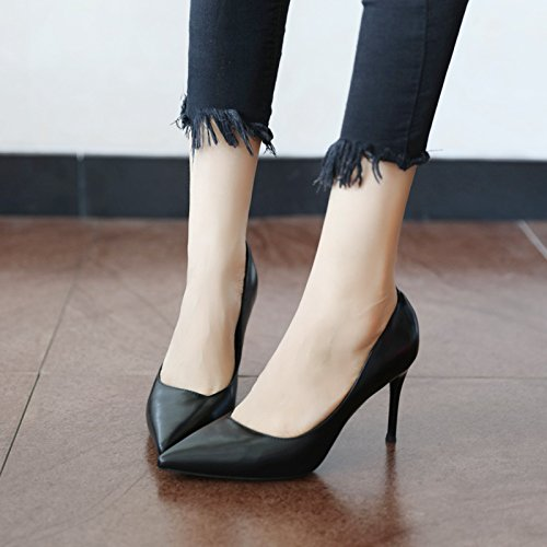 FLYRCX Frühling und Herbst europäischen Stil einfach Einfach seichte einzelne einzelne einzelne Schuhe Schuh und High Heel Schuhe dd78e8