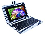 LINSAY NEW F7XHDBLKZEBRA Quad Core with Zebra Style - Best Reviews Guide