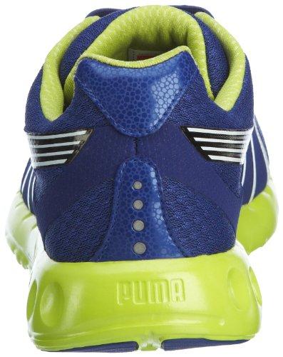 Puma - Zapatillas de running de material sintético para hombre BLEU/JAUNE
