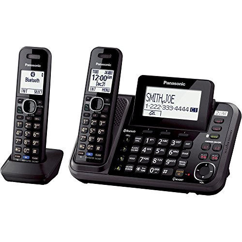 Buy 2 line cordless phone system