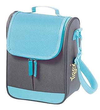 Tigex - Bolsa Isotérmica de Gran Capacidad - Color Gris y Azul