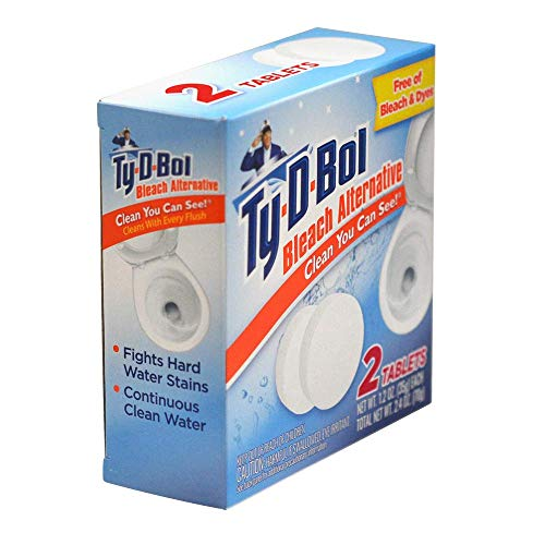 Ty-D-Bol Bleach Alternative 2 Count (Pack of 1)