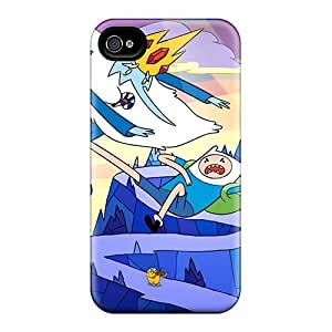 Hot Snap-on Adventure Time Kick Hard Covers Cases/ Protective Cases For Iphone 4/4s