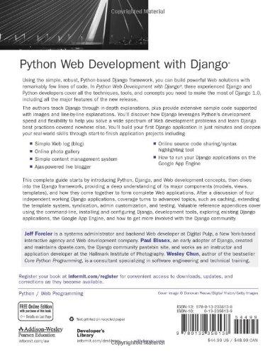 Python Web Development with Django - Buy Online in Oman