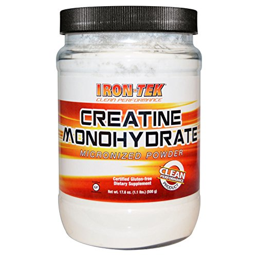 Country Life, Iron-Tek, Creatine Monohydrate, 17.6 oz (500 g) - 3PC by Country Life