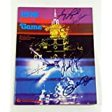Rose/Seaver / Morgan & 3 Others Signed 1976 All Star Game Program 6 Autos - MLB Programs