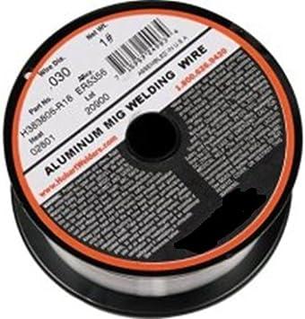 Hobart H383806-R18 1-Pound ER5356 Aluminum Welding Wire 0.030-Inch
