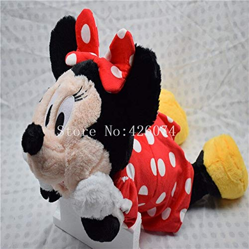 RAFGL New Mickey Sulley Plush Pillows for Girls Boys Big 50Cm Kids Stuffed Toys Children Gifts Must-Have Friendship Gifts Girl S Favourite Superhero Party Favors Animators ()