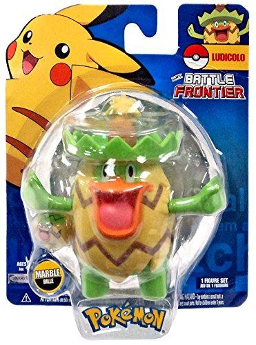 Amazon.com: Pokemon Battle Frontier Series 2 Ludicolo Figure ...