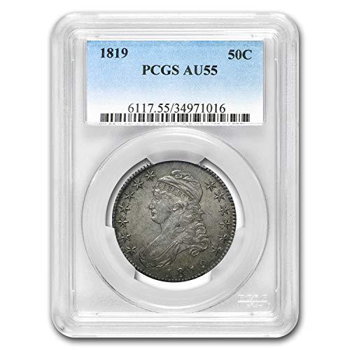 1819 Capped Bust Half Dollar AU-55 PCGS Half Dollar AU-55 PCGS