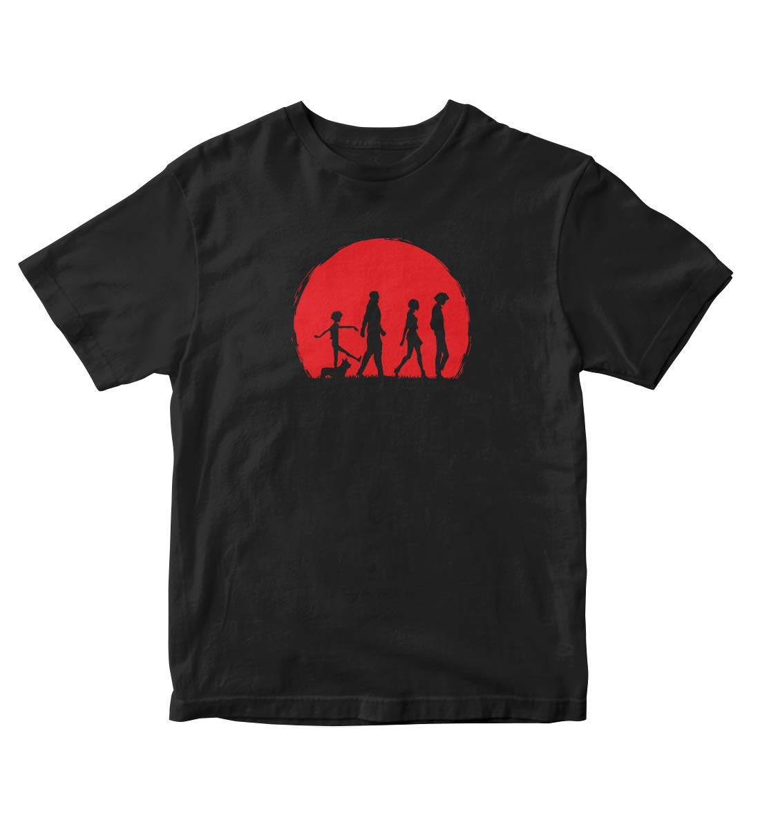 Cowboy Bebop Sunset Anime Manga Black Shirt S A318