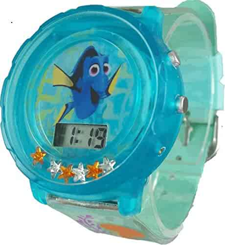 Disney Kid's 'Finding Dory' Digital Watch with Floating Stars (FDO3001ST)