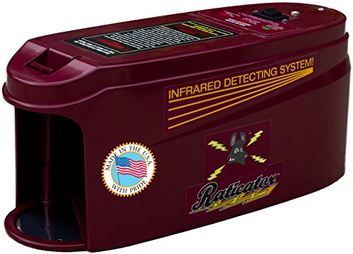 Raticator Max Rodent Zapper - SUPER DUTY Electronic Rat Trap / Mouse Trap Humanely Exterminates...