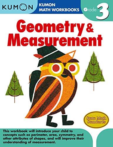 Geometry & Measurement, Grade 3 (Kumon Math Grade 3)