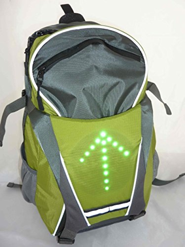 Mochila Led intermitente bicicleta, Skate, patinete ...