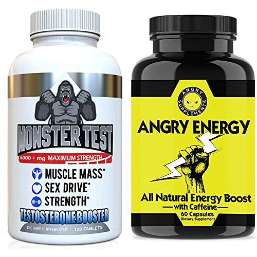 Angry Supplements Monster Testosterone 2 Bottle