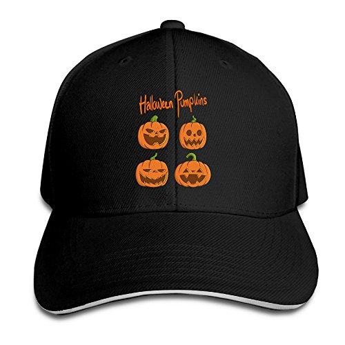 Halloween Pumpkins Baseball Hat (Halloween Trick Or Treat Movie Online)
