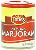 Tone's Mini's Marjoram, Ground, 0.40 Ounce (Pack of 6)