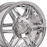 18x9.5 Wheel Fits Mercedes Benz C E S Class SLK CLK CLS - ET38 Split Spoke Chrome Rim