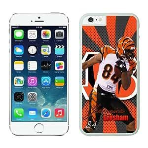 Cincinnati Bengals Jermaine Gresham Case For iPhone 6 White 4.7 inches