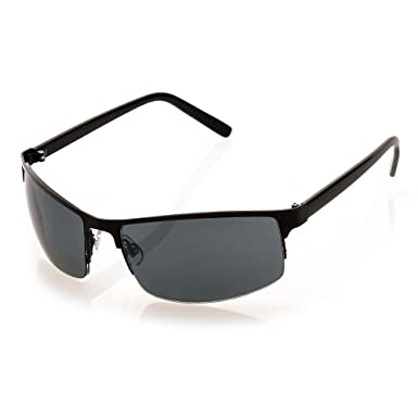 411f43d145a Amazon.com  NYS Collection Eyewear First Avenue Sunglasses (Black ...
