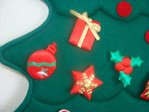 - Christmas Magic Child Nativity Scene ~ IF You Buy 2 ~ Stuff The Pockets with Chocolate ~ Great for College Kids ~ No Pins or Needles of Any Kind so it is Safe for Old Folks ~ Thick Embroidered Felt