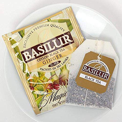 Basilur   Natural Ginger Tea   Food Service Packs   Single O