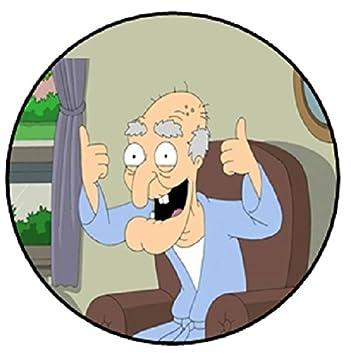 Spqr Herbert The Pervert Family Guy Badge 58mm Diameter Amazon