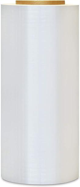 "32 Rolls Cast Hand Stretch Wrap Plastic self-adhering Shrink Film 3/"" Core 12 Inch x 1500 Feet 90 Gauge"