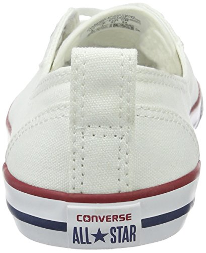 Converse Ladies Ctas Balletto Lace-slip-white-women Pantofole Piatte Bianche (whitewhite)