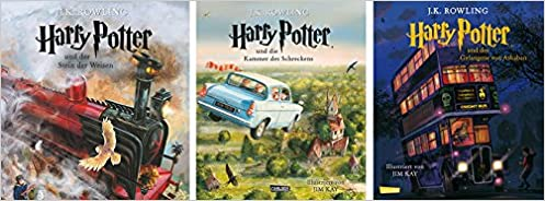 Harry Potter Illustrierte Schmuckausgaben Amazon De J K Rowling