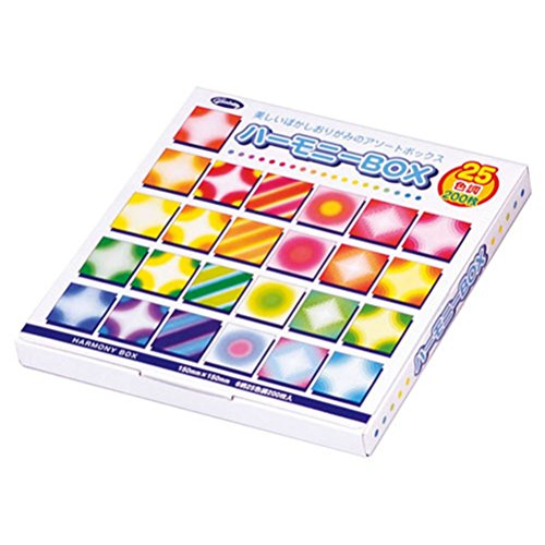 Aitoh 23-1022 Harmony Origami Paper Boxed Set, 5.875 by 5.875-Inch, ()