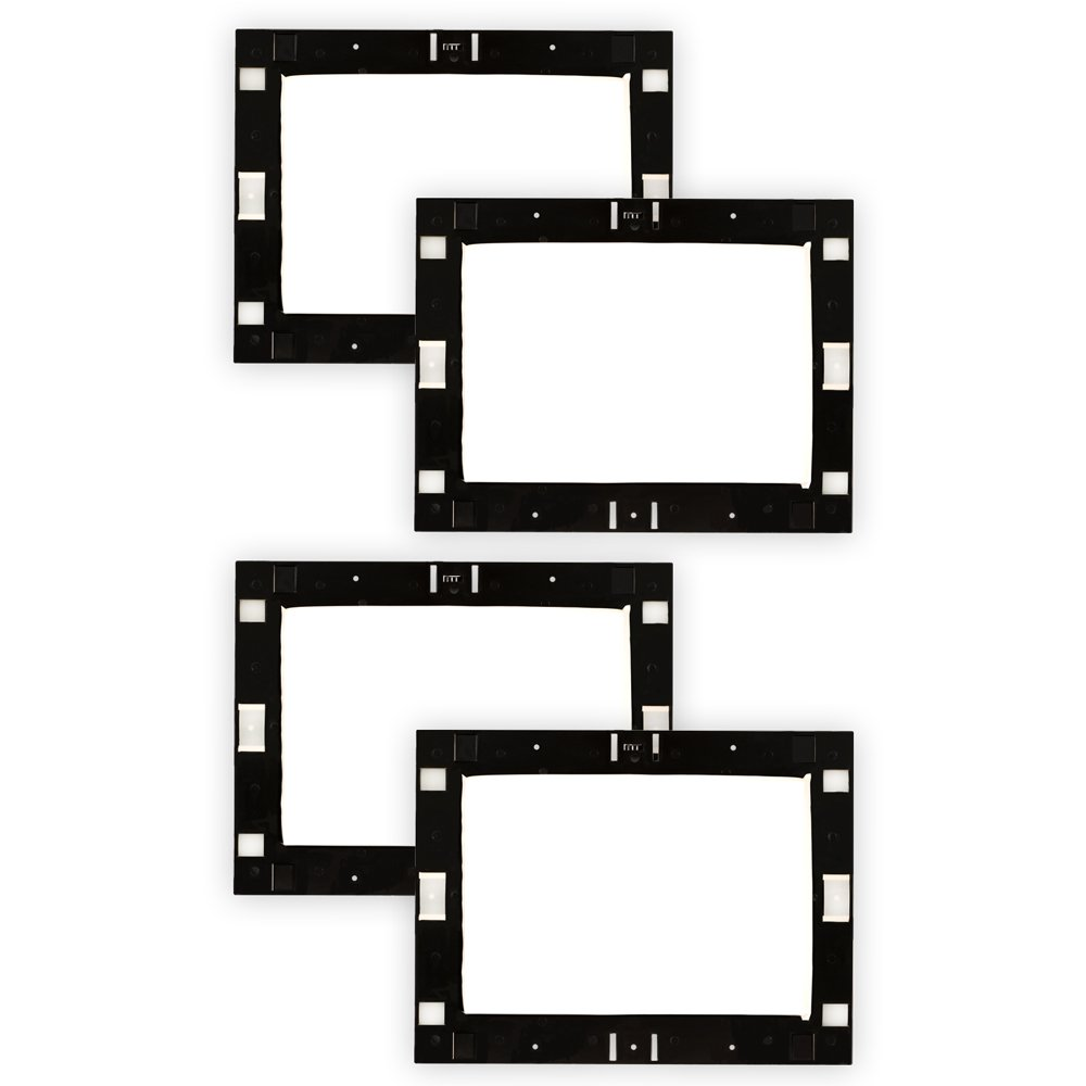 Theater Solutions RK8W In Wall Installation Rough In Kit for 8'' Speakers 2 Pair Pack by Theater Solutions