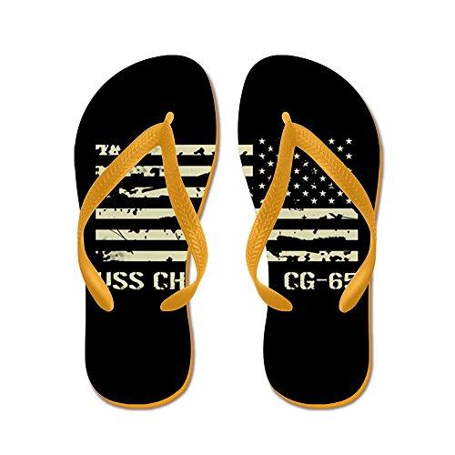 Cafepress Uss Chosin - Flip Flops, Grappige String Sandalen, Strand Sandalen Oranje